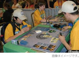 大手カードゲーム会社の写真