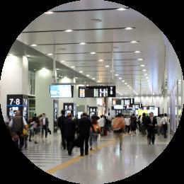 駅コンコースの写真