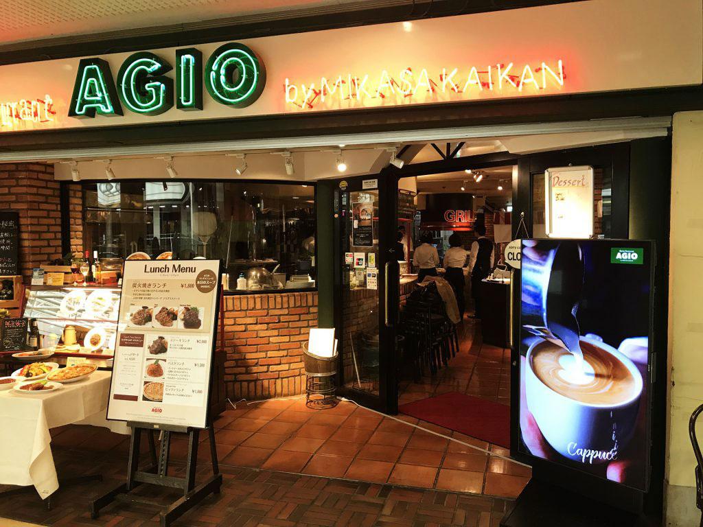 マーケットレストランagioサンシャインアルパ店 様 東京新宿のデジタルサイネージ専門事業部