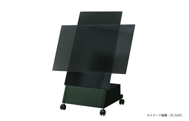 ディスプレイスタンド XS-4860H 〜65V型対応-ディスプレオ設置