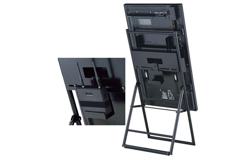 ディスプレイスタンド XS-3247E 〜50V型対応-オプションで外付け機器に対応