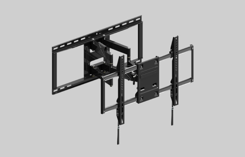 壁掛金具 FLM-006-BK 42~86V型対応 フルモーションタイプ