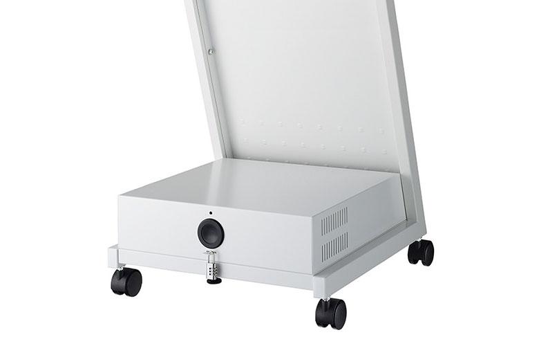 収納ボックス標準装備